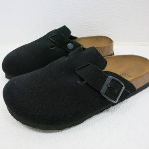 Birkenstock Suede Leather Casual Mules Sandals 36